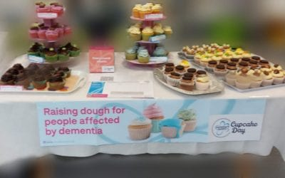 Cupcake Day 2021: a staff fundraiser for the Alzheimer's Society